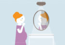 Bị mụn khi mang thai