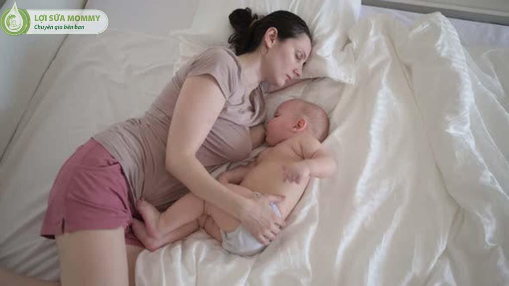 giảm sữa đột ngột